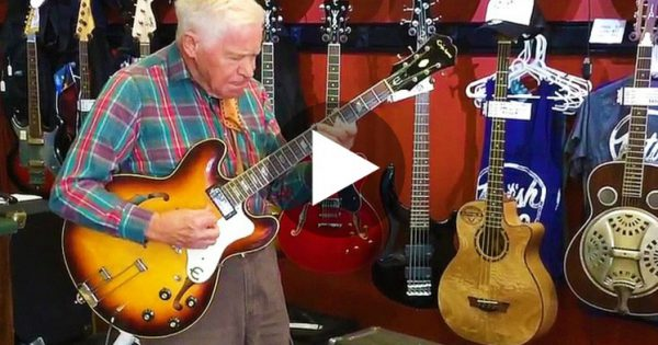 80-Year-Old Man Picked Up A Guitar. Now Keep Your Eyes On His Left Hand… I Wasn't Expecting THIS!