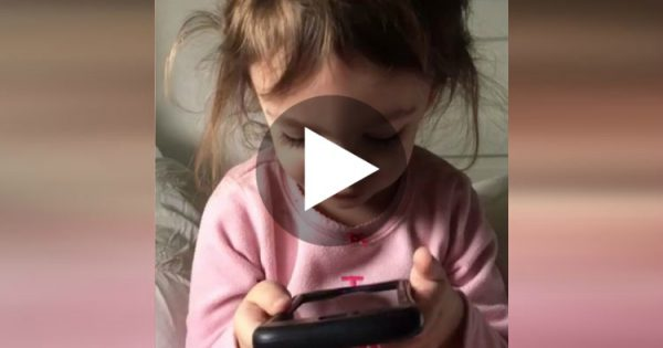Little Girl Gets Into A Frustrating Conversation With Siri.. The Ending Will Leave You In Stitches!