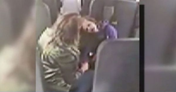 Bus Aide Not Aware Of Camera Rolling, Does The Unthinkable To A 6-Year-Old Autistic Student. Horrifying!