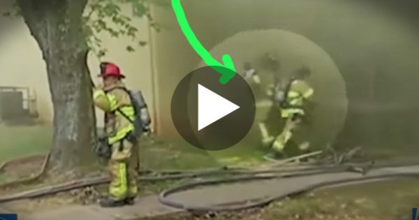 Dad Throws Kid Down From Second Floor. But The Firefighter's Next Move Will Leave You Gasping For Breath!