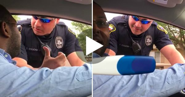 Cop Stopped Him For Weird Reason, Moments Later? He Turned To His Wife To See THIS.. OMG!