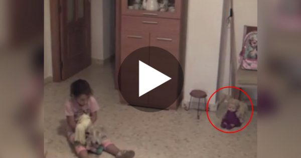 """Girl Is """"Bothered"""" By Something Unusual, Then Dad Captures Something That Will Send Chills Down Your Spine!"""