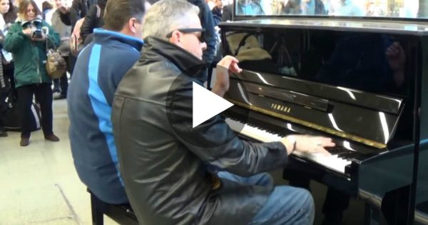They Sat On A Public Piano To Play 'Boogie Woogie Jam,' But No One Expected THIS.. WOW!