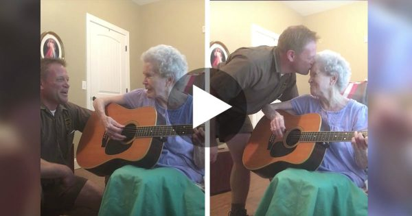 Mom With Alzheimer's Can't Remember Her Son, But When They Sing Together, Everything Changes.. WHOA!