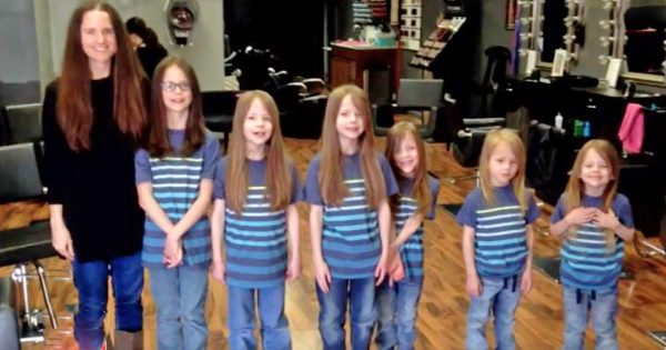 6 Sons' Long Hair Made Bullies To Make Fun Of Them, Then Mom Decided To Do This… Watch Them Now!