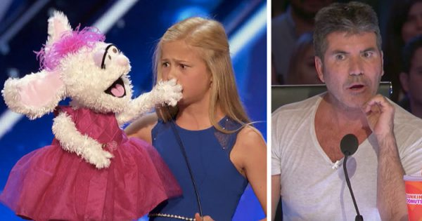 Shy Girl Steps On Stage With Her Stuffed Animal. But When She Opens Her Mouth. The Whole Nation Is Blown Away.. WOW!
