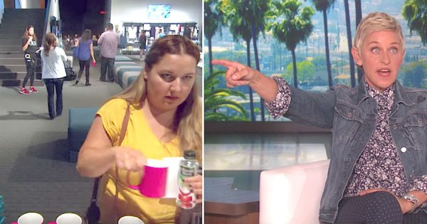 Ellen busts one of her audience stealing, stops her show and publicly shames her