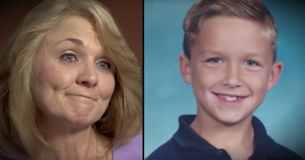 Her son dies, then comes back from heaven and tells her about his two siblings he'd never known