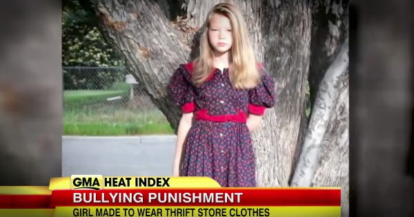 Parents learn their daughter is a bully, come up with a punishment she won't forget