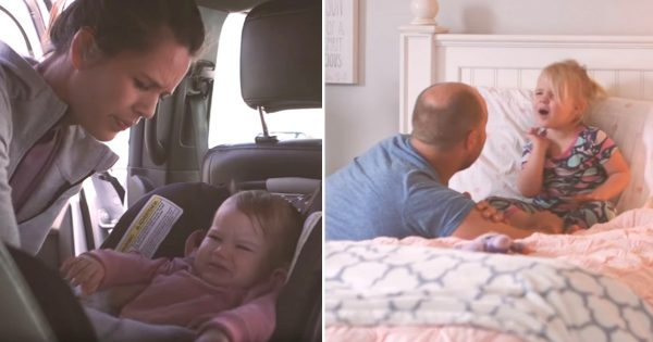 Mom Had Long Tough Day With Her Kids. Then Daughter Tells Her Dad What Really Happened.. WHOA!