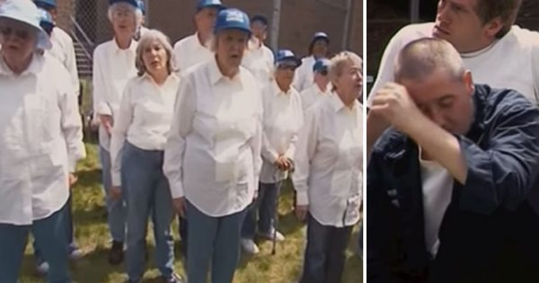 Elderly Folks Crash The County Jail, But when The Music Begins even the Toughest Inmates Start Sobbing