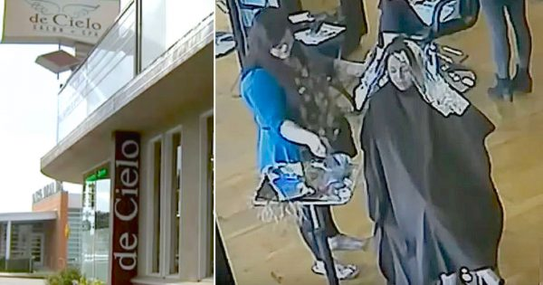 """Hair salon catches """"bride-to-be"""" sneaking out after $900 worth of services, Then teaches her a lesson"""