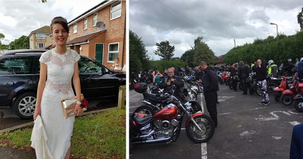 Bullied teen doesn't dare go to school prom – then 120 bikers knock on her door
