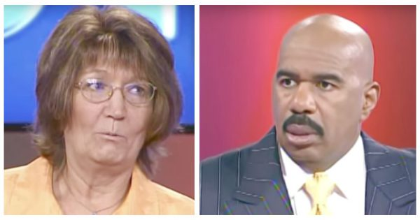 With Two Strikes Left, Mom's Answer on 'Family Feud' Leaves Steve Harvey in Disbelief