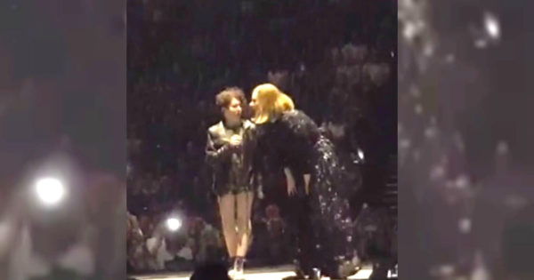 Adele Spots Autistic Teen's Sign and Brings Her Onstage, Gets Stunned By Teen's Incredible Vocals