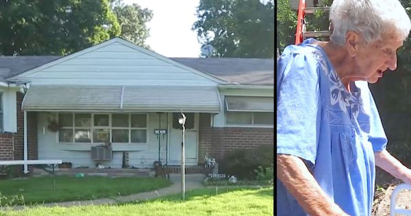 90-Year-Old Widow Faces $2K a Day in Fines, Walks Outside to See Strangers Changing Her Property