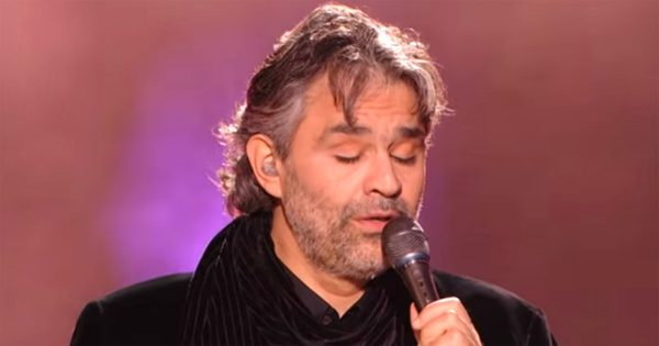 """Elvis Made """"Can't Help Falling In Love"""" Famous, But When Andera Bocelli Sings it, Not a Dry Eye in The House"""