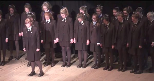 Girls Choir Performs Queen's Hit, But With Stunning Twist That Has Audience Roaring For More
