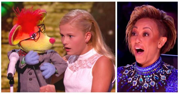 Young Ventriloquist Presents Mouse Puppet, But He Steals The Show By Confessing Sweet Crush On Mel B