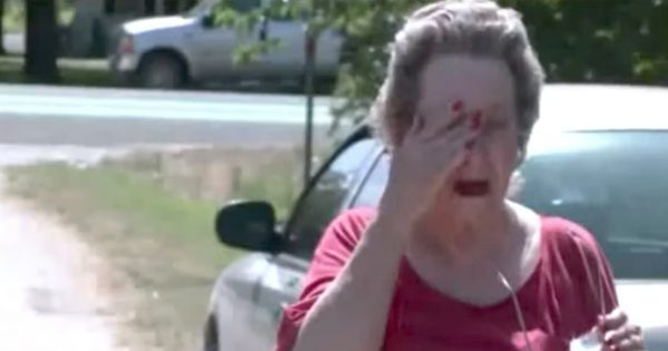 75-Year-Old Woman Catches 4 Boys Sneaking into Her Yard, Sobs When She Realizes What They're Doing