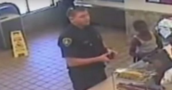 Police Officer Is Shot Dead. When They Look at Surveillance Camera, They See How Kind His Final Act Was