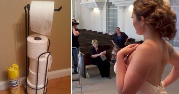 Woman Starts with Toilet Paper, Ends Up Creating a Wedding Dress That Will Leave You speechless