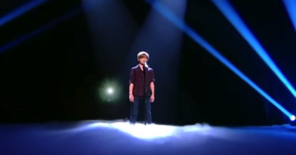 12-Year-Old Boy Stuns The Judges with His Powerful Voice. Now Watch Who's Coming Behind Him
