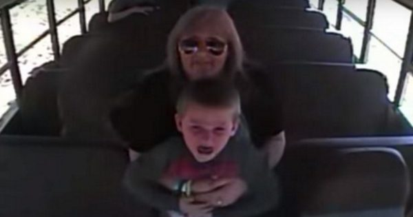 Bus Driver Suddenly Grabs Panicked Child. Seconds Later, Cam Captures a Terrifying Nightmare