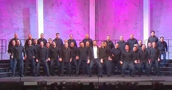 36 Men Walk Onto The Stage And Line Up. But The Man In White Took Everyone By Surprise