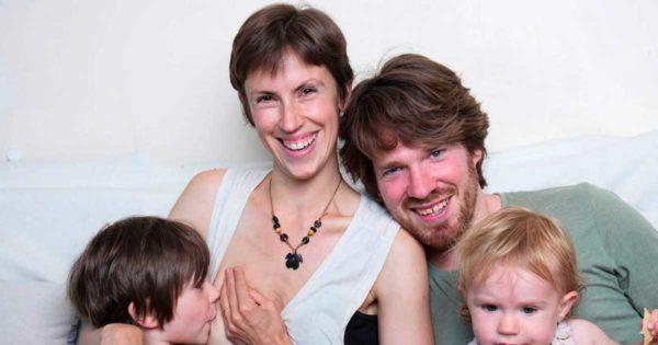 Mom Who Breastfeeds 5-Yr-Old Son Raises Free-Range Kids: No Medicine, No School Routine, No Bed-Time