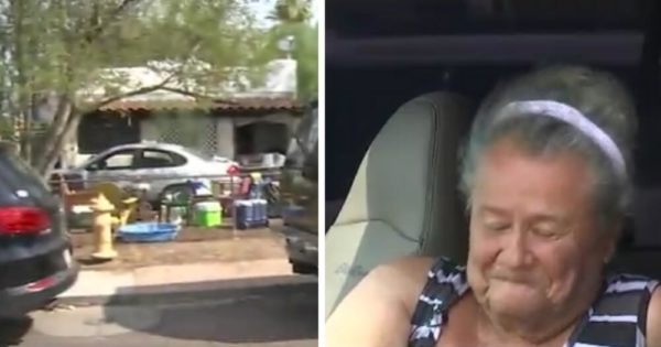 Elderly Woman Lives in Car Parked in Front of Her Own Home. Then Neighbors Learn Heart-Breaking Reason