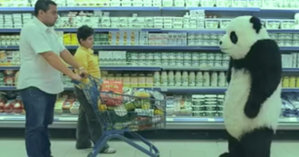 Pissed Panda Ruining Everyone's Day Might Just Be The Funniest Commercial You've Never Seen