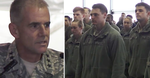After Racial Slurs at Air Force Academy, Enraged Chief Lines Up Airmen For Stirring Speech