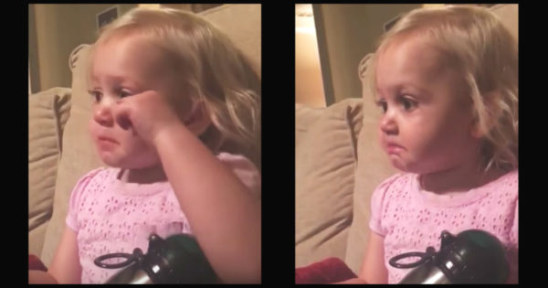 2-Year-Old Girl Weeps Watching Pixar Movie, Then Makes The Internet Emotional With Real Reason Why
