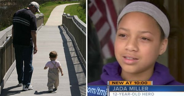 Scary Man Grabs 4-Yr-Old and Walks Off – Then Fearless 12-Yr-Old Knows She Has to Act Quickly