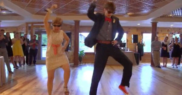 Groom and His Mom Step onto The Dance Floor, Stun Wedding Guests with an Unexpected Wedding Routine