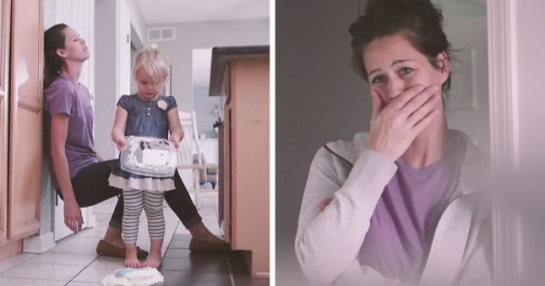 Mom Has Long Tough Day at Home With The Kids. Then Toddler Tells Dad What Really Happened