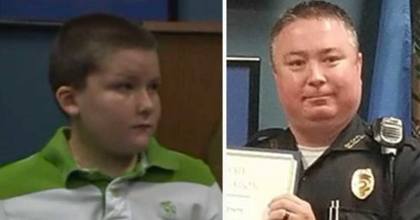 Cop Finds Abused 8-Yr-Old Boy, Wrists Bound By Belt, Has No Idea He's Meeting His Son