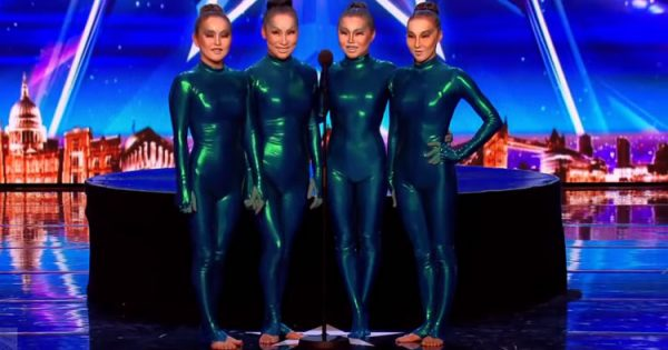Four Girls Strut Out in Bizarre Bodysuits – But When Music Plays On, Judges and Audience are Jaw Dropped
