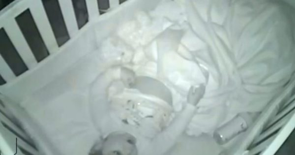Parents Put Their Baby Girl To Bed. Hour Later, Wake Up to Whispering Coming from The Baby Monitor