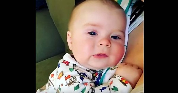 Little Baby Sneezes, But It's What He Utters Right After That Has Everyone's Hearts Melt Away