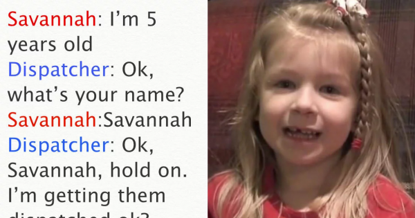 5-Year-Old's Quick Act Saved Dad's Life, But Her 911 Call is Leaving Everyone in Fits of Laughter