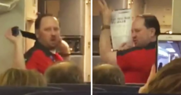 Southwest Airlines Steward's 'Sexy' Safety Demonstration Has Flyers Laughing So Hard in Their Seats