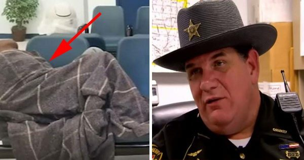 Cop Notices Crying Woman – Takes a Look Under Blanket and Instantly Realizes Something's Very Wrong