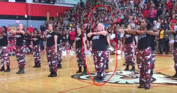 Principal Takes Center Position With Step Team – Minute into Music, Her Skills Has All Students on Their Feet