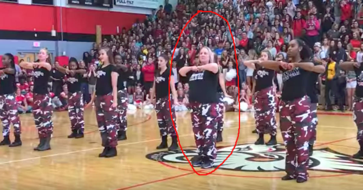 A Danger To Students With Disabilities >> Principal Takes Center Position With Step Team - Minute ...