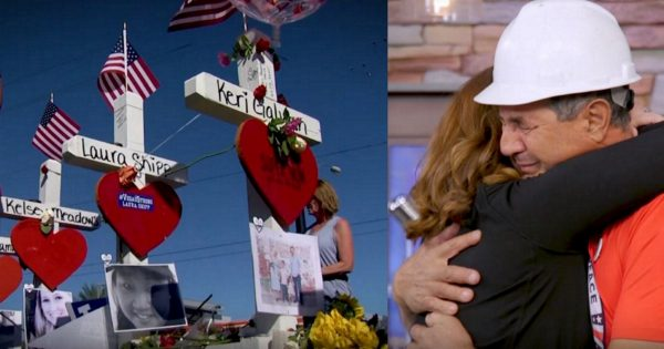 Man Builds 58 Crosses for Las Vegas Victims. Weeks Later, He Receives Gift He Never Expected On TV