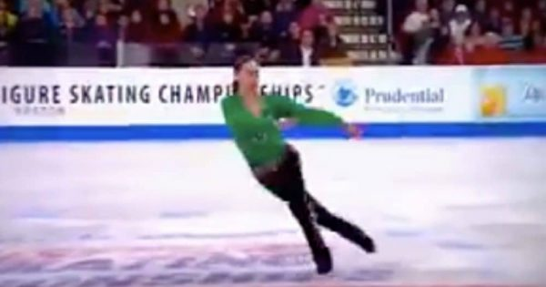 19-Yr-Old Figure Skater Performs Irish Riverdance Routine On Ice That Brings Entire Stadium To Their Feet