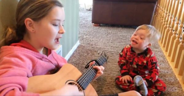 Doctors Said 2-Yr-Old Won't Speak For Years, But When Big Sister Begins to Sing, A Miracle Happens