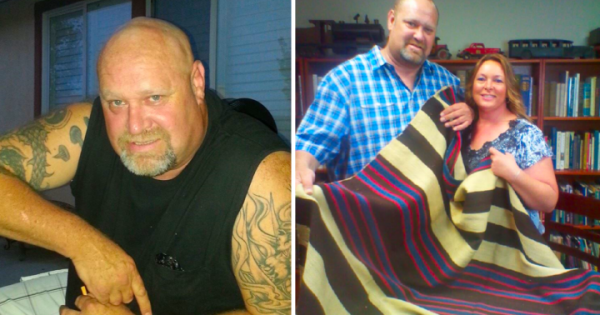 Man lives on disability checks , takes old blanket to auction —but when bids soar over $1 million, he's totally speechless